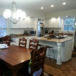 Remolding of a Lake home